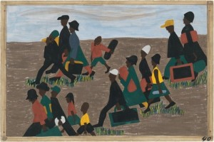 Jacob Lawrence. The Migration Series. 1940-41